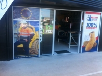 Signature Sportswear Shop Front One Way Vision